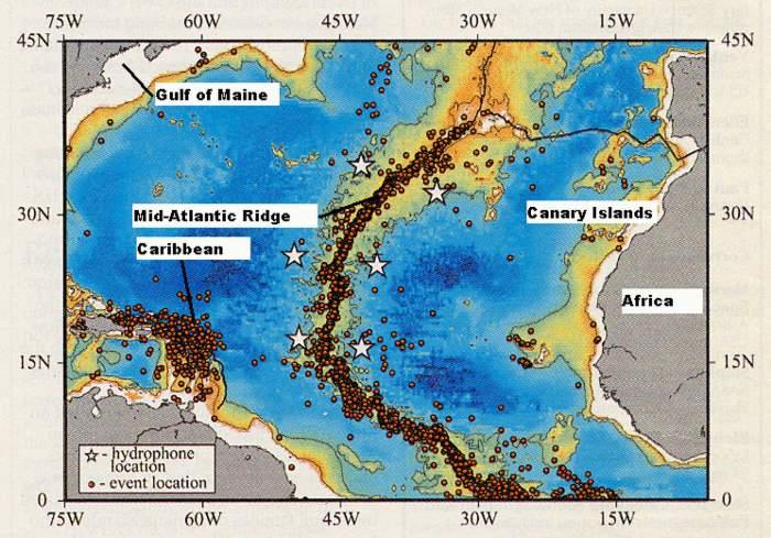 Tsunami maines geologic hazards maine geological survey maine acf map of seismic activity gumiabroncs Choice Image
