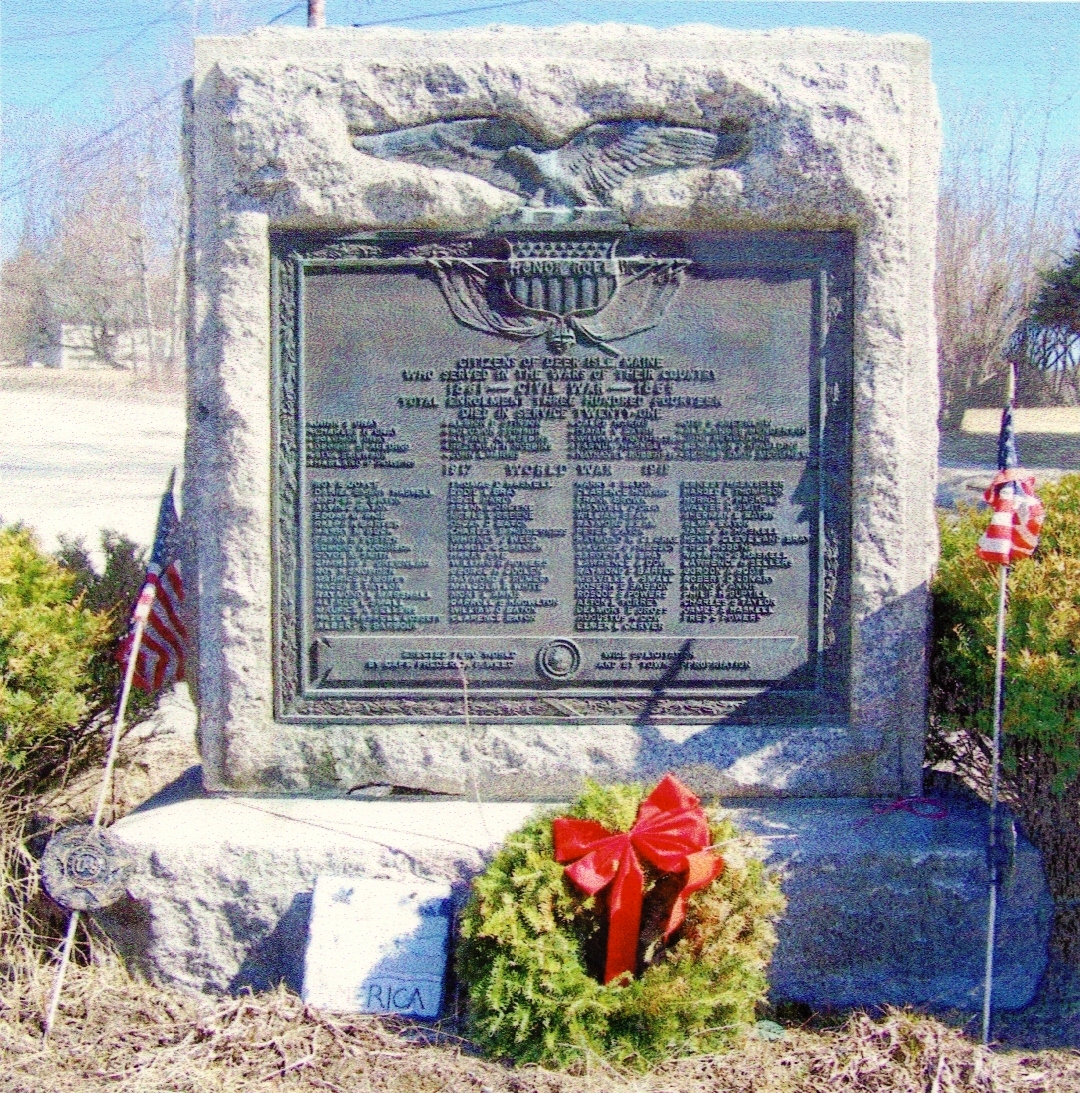 Town And Country >> Maine's Civil War Monuments
