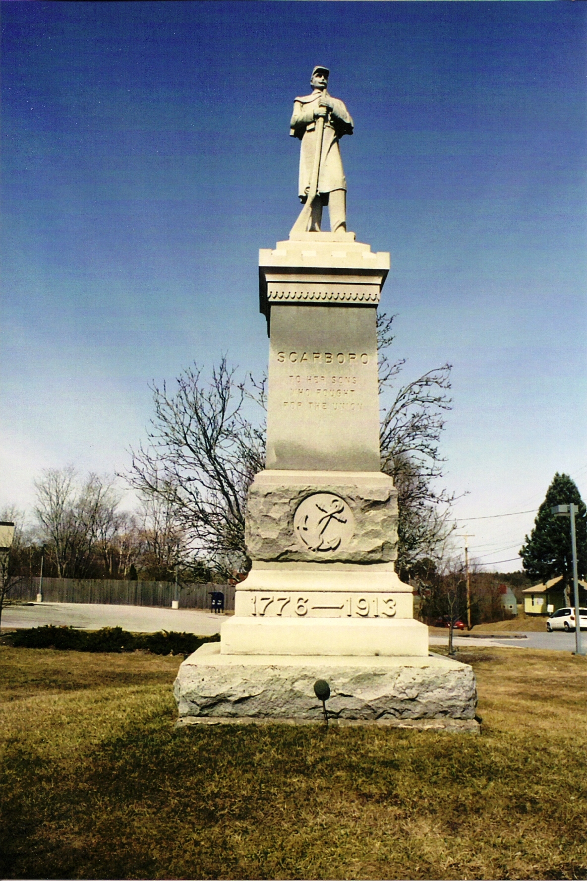 Maine S Civil War Monuments