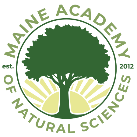 Maine Academy of Natural Sciences' school logo