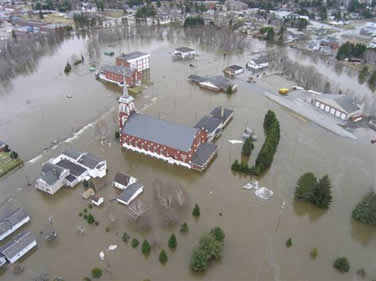 Fort Kent Flooding 2008
