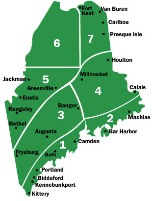 maine state parks map Maine Fall Foliage When And Where To Visit Maine Dacf maine state parks map
