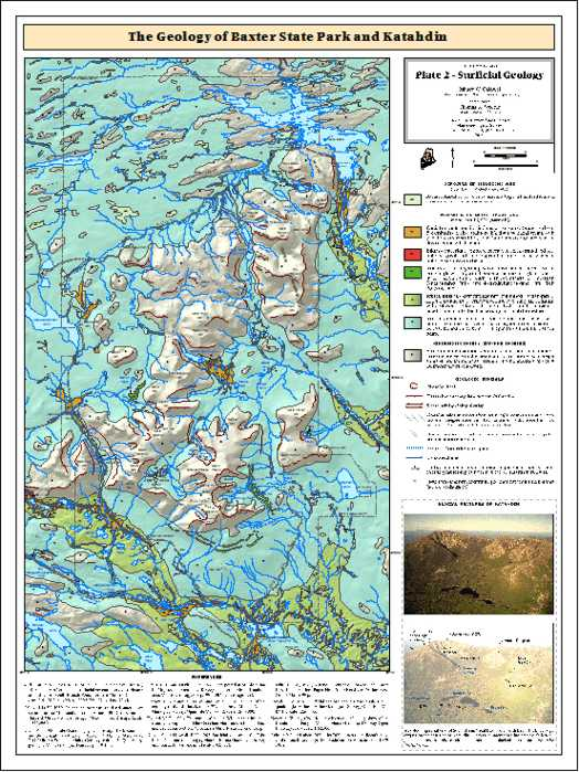 A Guide to the Geology of Baxter State Park and Katahdin ... on lake george map, charleston map, baxter mn street map, floral park queens map, monhegan island map, mount katahdin map, androscoggin river map, kiwanis park map, patapsco hilton area map, baxter st park map, united states map, martha's vineyard map,