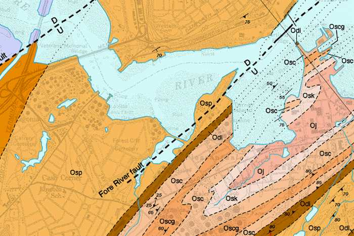 Geologic Map Of Maine.Maine Geological Survey Reading Detailed Bedrock Geology Maps