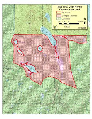 St John River Maine Map.Maine Natural Areas Program Ecorserve Fact Sheet For Saint John Ponds