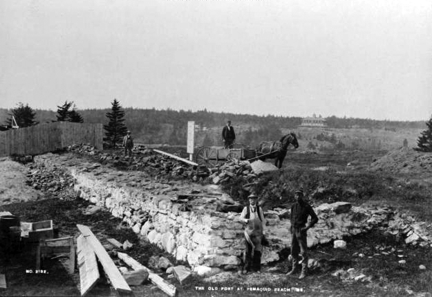 Photos colonial pemaquid history discover history for Ma fishing license cost