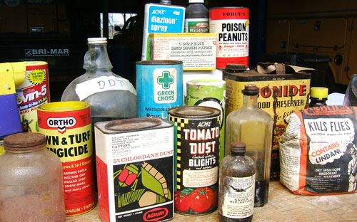 Obsolete Pesticide Collection: Public Information: Board of