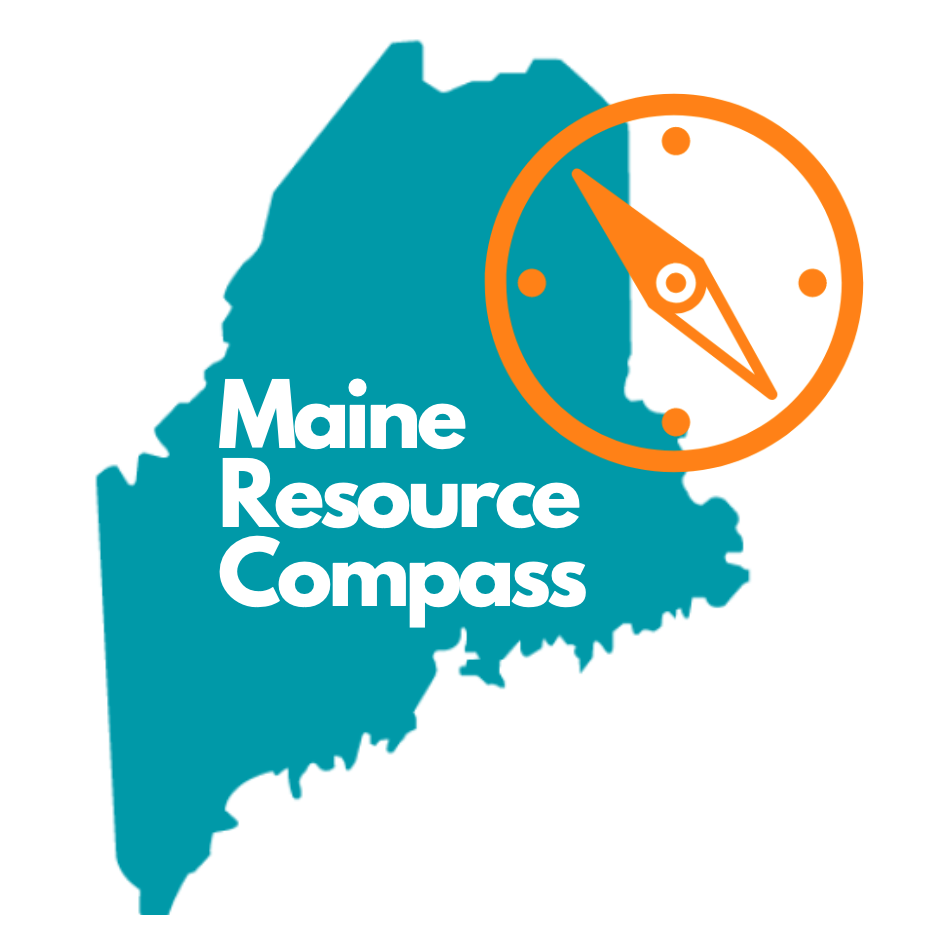Maine Resource Compass logo