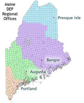 Maine Dep Office Locations