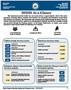 DHHS At-a-Glance cover