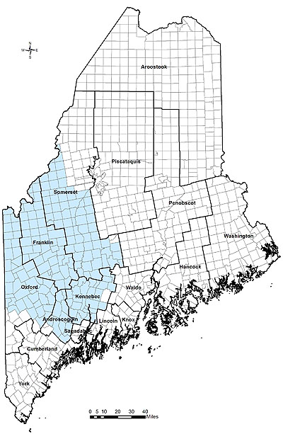 Maine Dwp Southern Central Field Inspection District 5