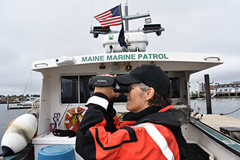 New Binoculars for Marine Patrol