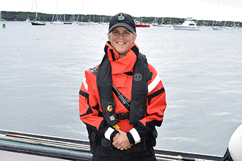 New Dry Suits for Marine Patrol