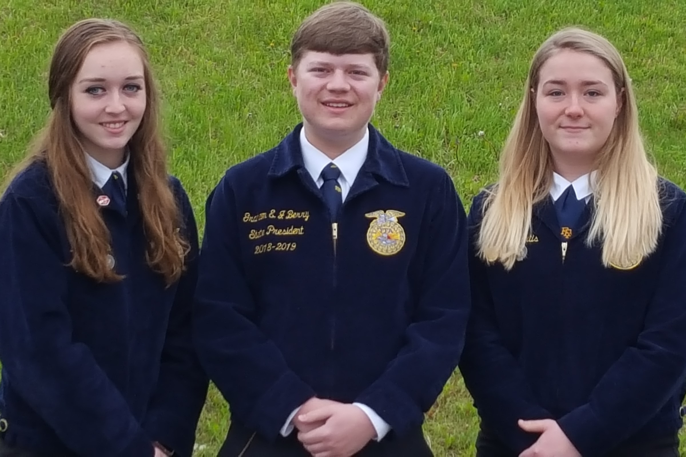 Image of 2019-2020 Maine FFA Officers
