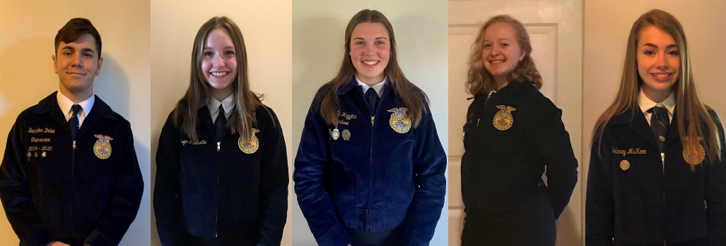 Image of 2020-2021 Maine FFA Officers