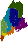 Maine Map - Educator Effectiveness