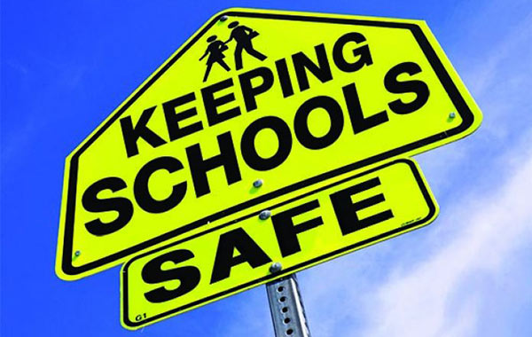 Photo of keep school safe screen