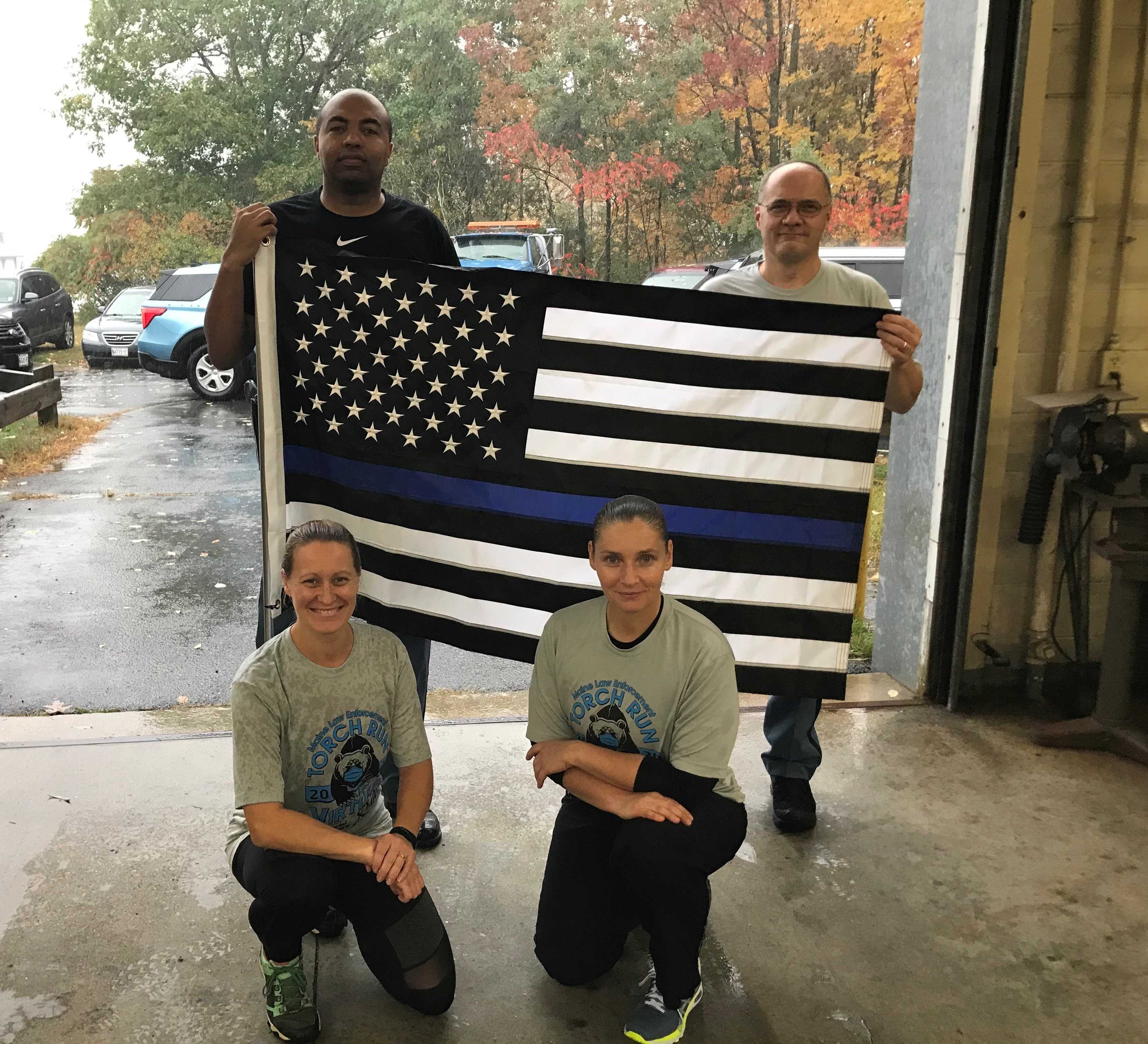 Troop G Troopers participate in Law Enforcement Torch Run