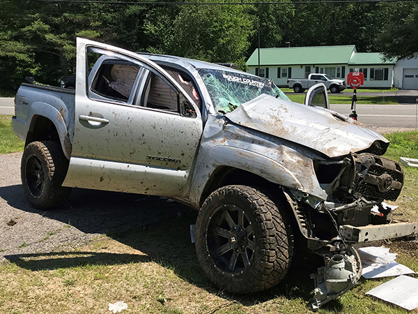TWO CRASHES EIGHT INJURED | Maine State Police