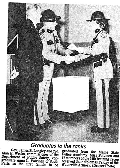 Maine State Police History | Maine State Police