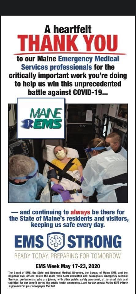 A Heartfelt Thank You to All EMS Providers