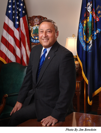 Official Photograph of Governor LePage