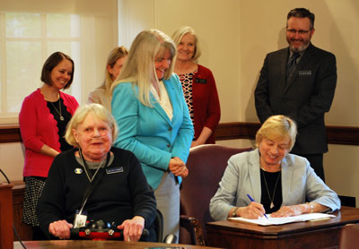 Governor Mills signs LD 369