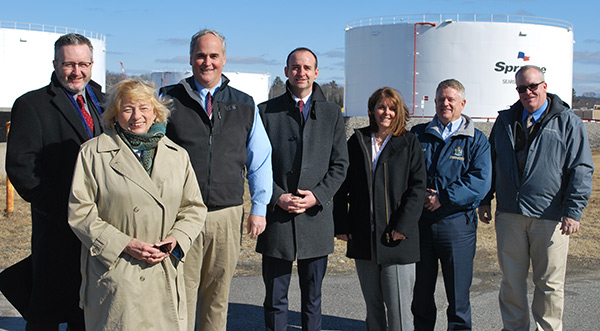Photo at Renewable Energy Announcement Searsport
