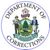 This is the Maine Department of Corrections logo