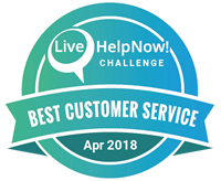This is a logo award for April 2018