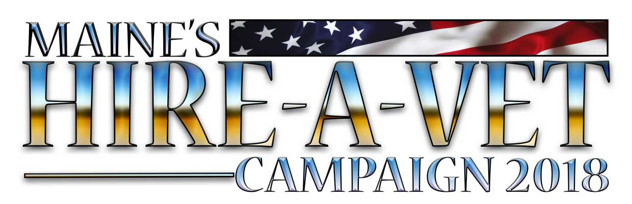 This is the 2018 Hire-A-Vet  Campaign Logo