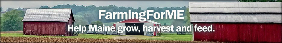 This is a header graphic for FarmingForMe