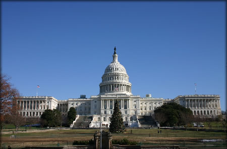 This is a picture of the US capitol