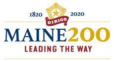 maine 200 years logo