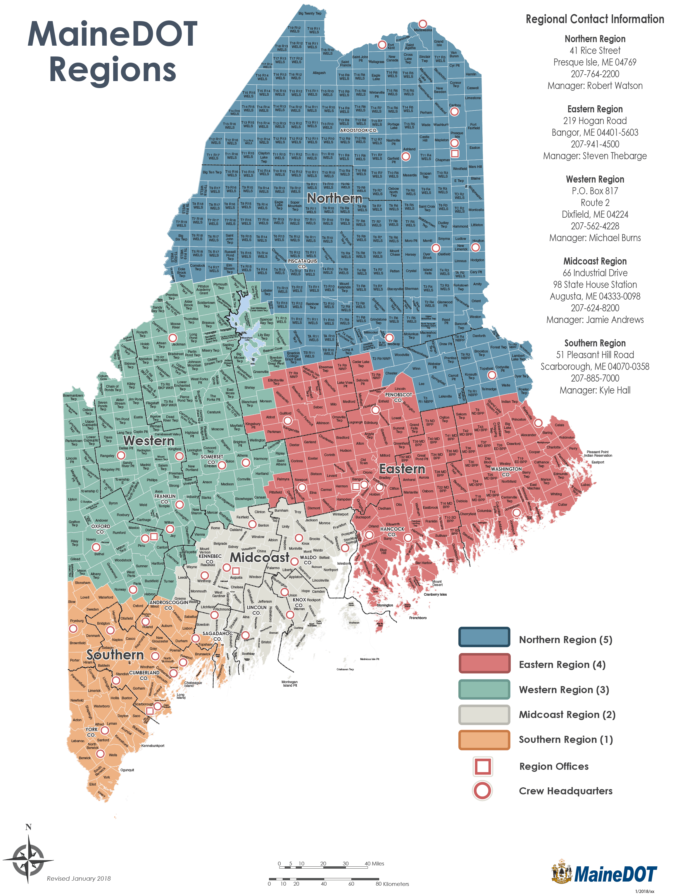 Mainedot Regions