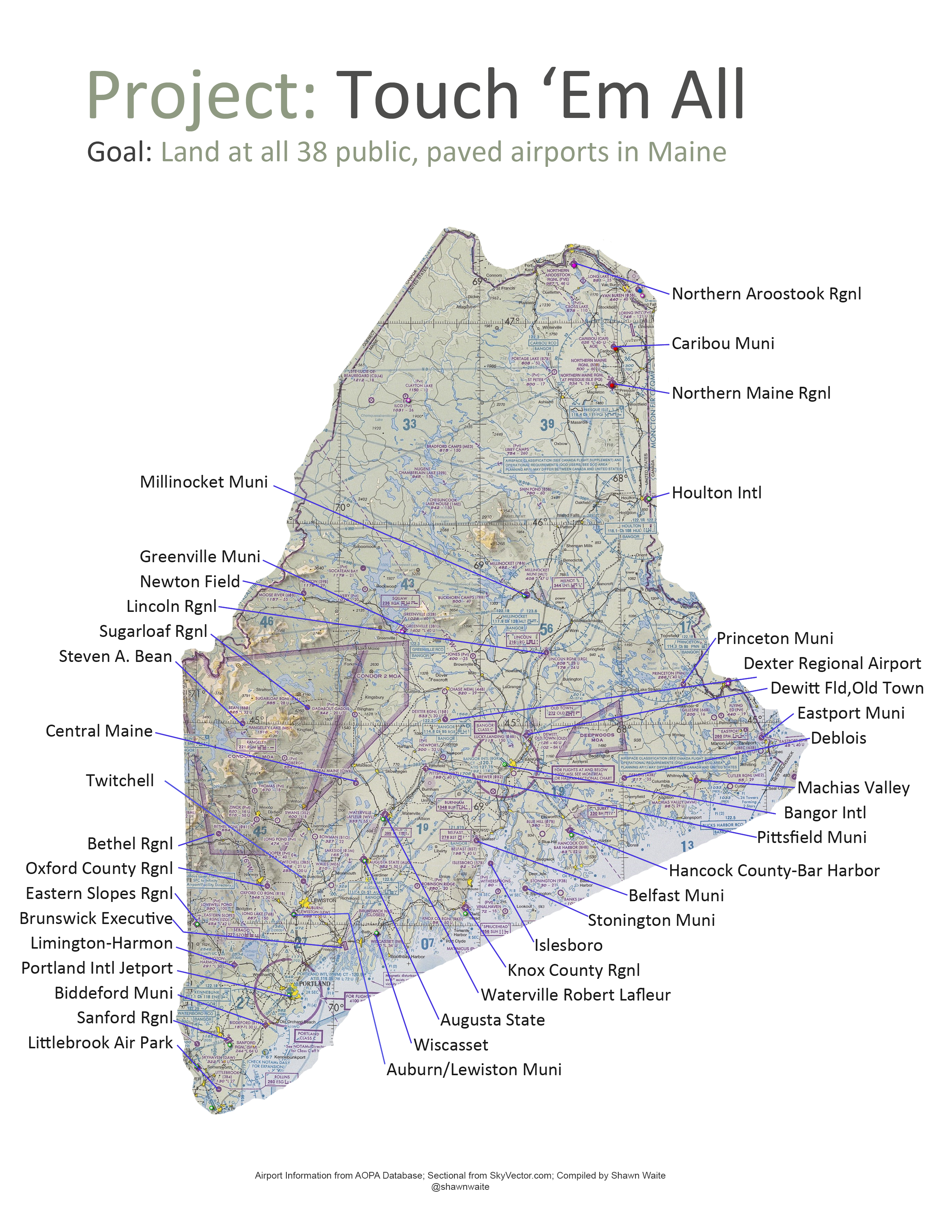 Image of: Homepage Airports And Aviation Mainedot