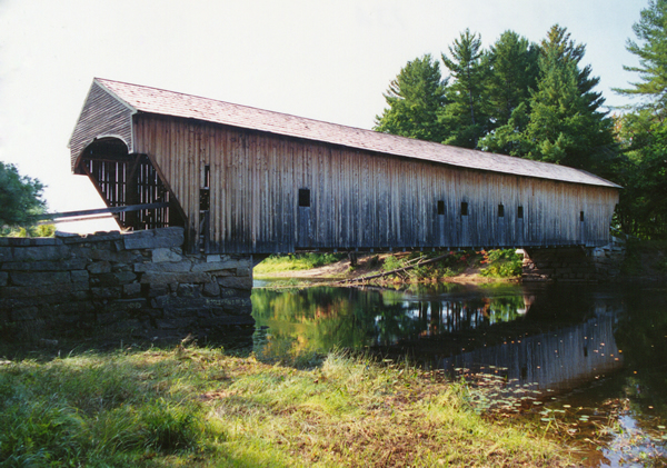 Historic Covered Bridges - Hemlock Bridge | MaineDOT
