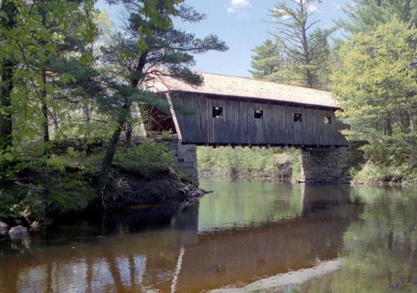 Historic Covered Bridges Lovejoy Bridge Mainedot