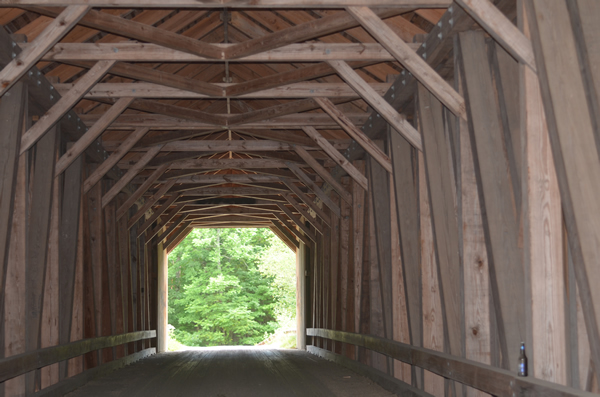 Historic Covered Bridges - Lowes Bridge | MaineDOT