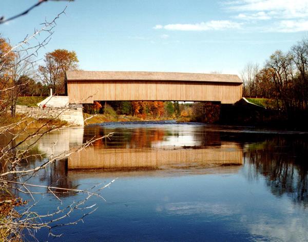 Historic Covered Bridges Lowes Bridge Mainedot