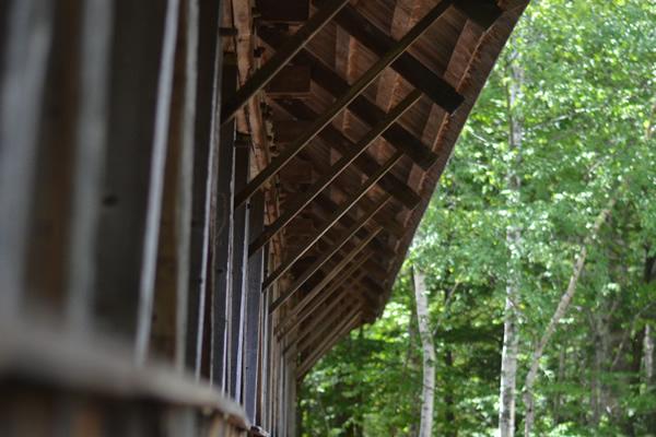 Historic Covered Bridges Sunday River Bridge Mainedot