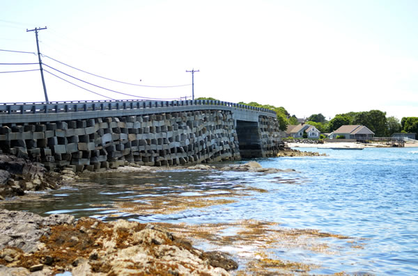 Other Historic Bridges Bailey Island Bridge Mainedot