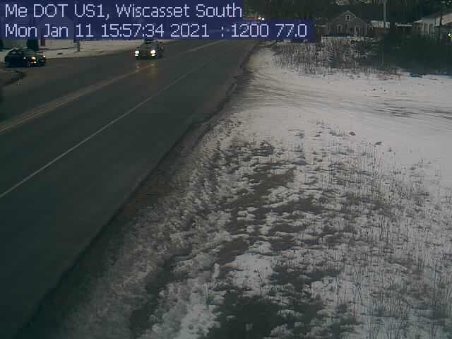 Wiscasset Traffic Camera >> Wiscasset Southbound | Boothbay Register