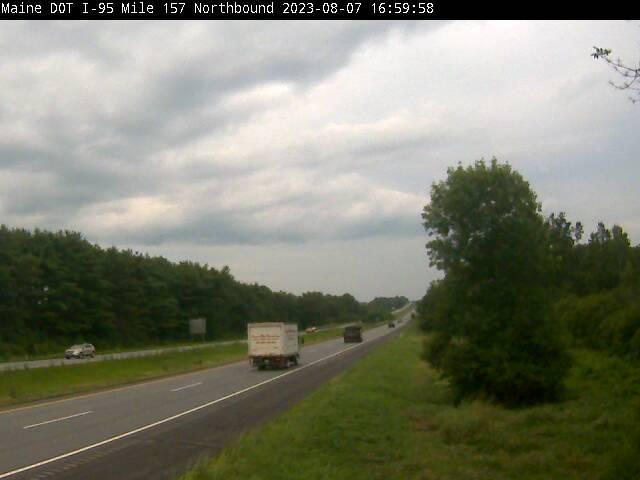 I-95 Palmyra Maine