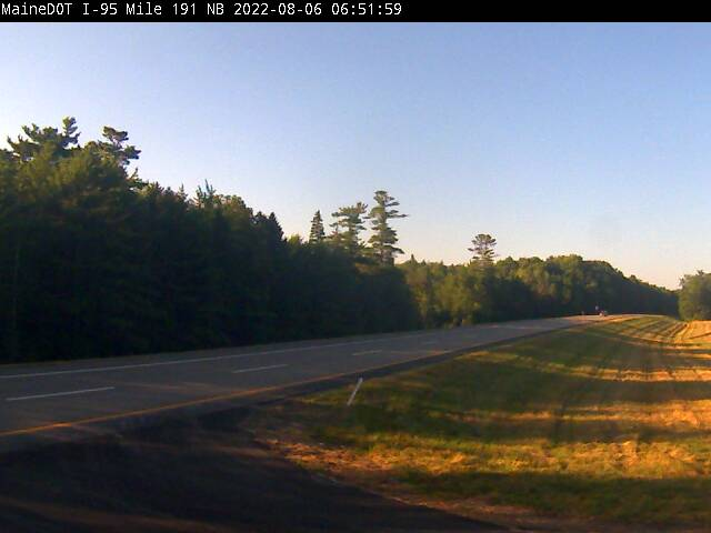 I-95 Oldtown Maine Webcam