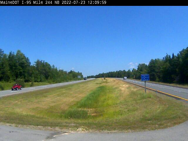 I-95 Medway Maine Webcam