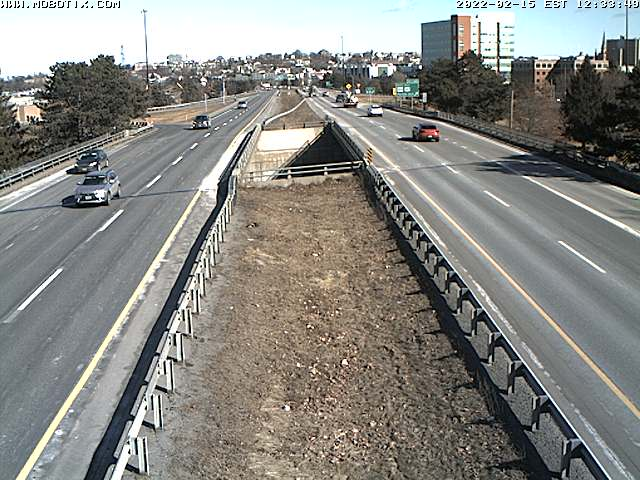 i-295 Portland before ramp 6A SB