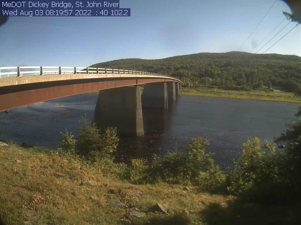 Allagash Maine Webcam
