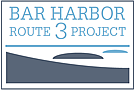 This is the Bar Harbor rt.3 Project Logo