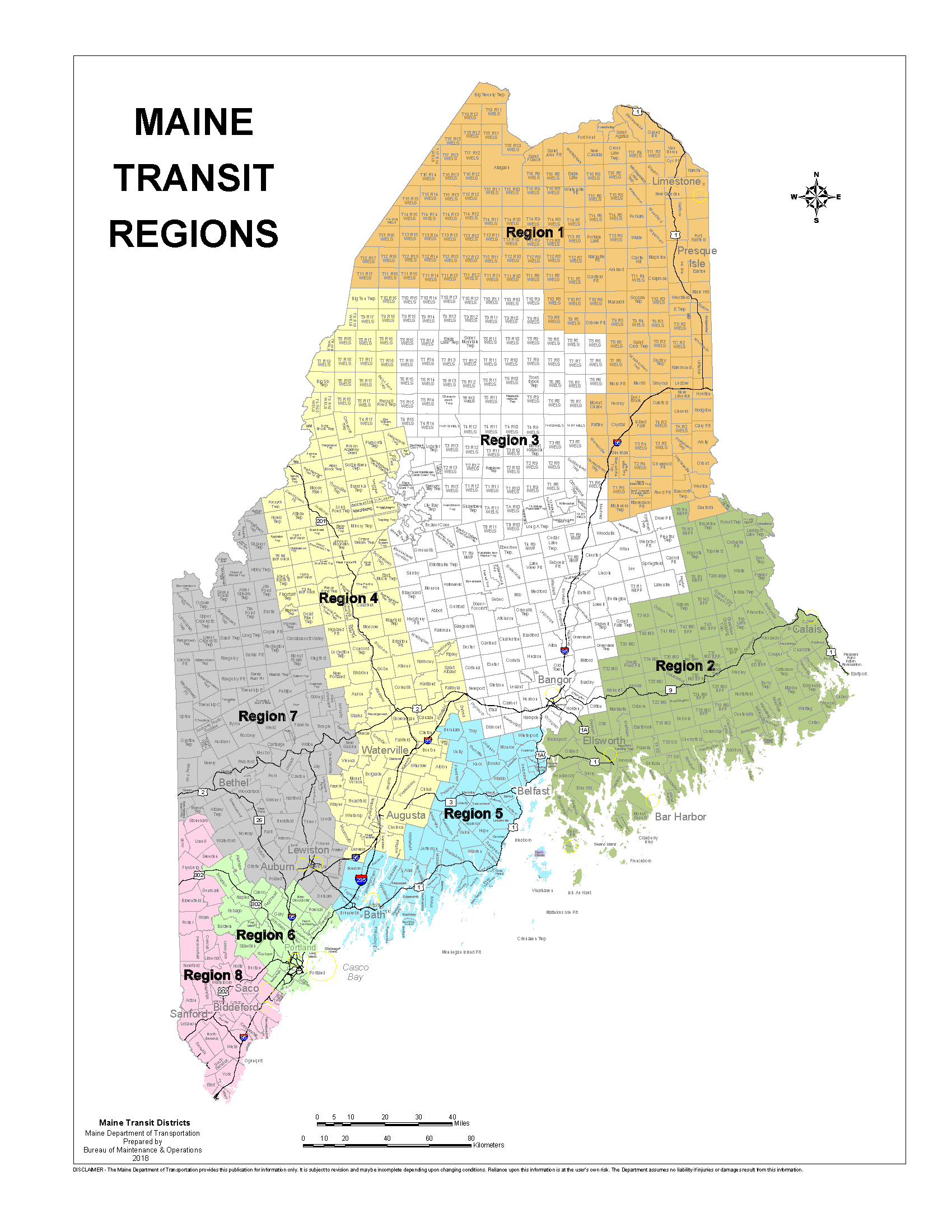 Public Transit Mainedot